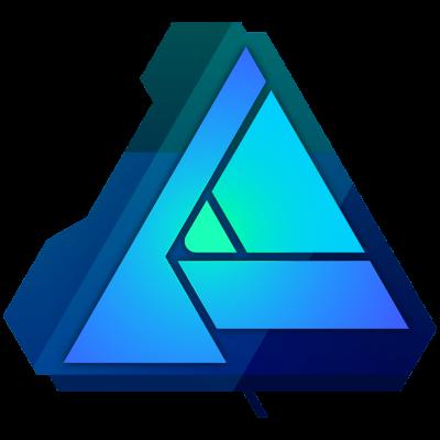 Het logo van Afinity Designer
