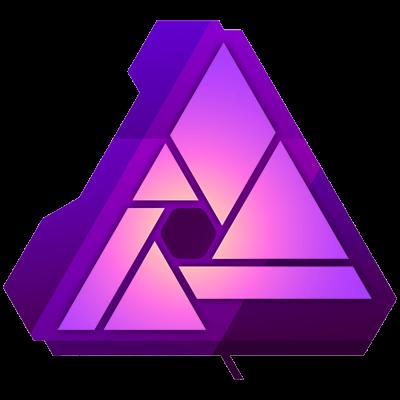 Het logo van Afinity Photo