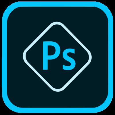 Het logo van Adobe Photoshop